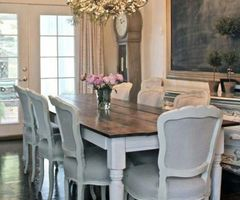17 Best Ideas About Farmhouse Dining Tables On Pinterest
