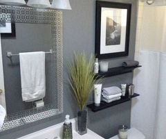 17 Best Ideas About Small Bathroom Makeovers On Pinterest