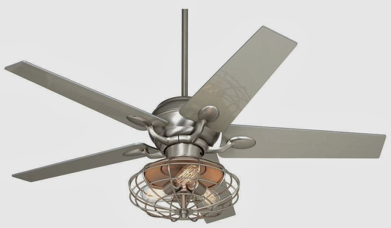 Industrial Ceiling Fans, Industrial Ceiling Fan Makeover Using Vintage Mattress Springs