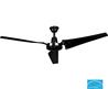 Hampton Bay 60 In. Black Industrial Ceiling Fan