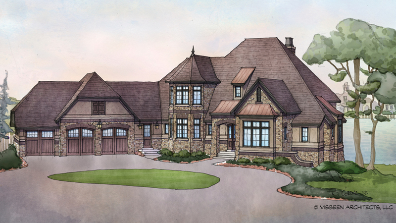 Country Style Home Plans, French Country House Plans