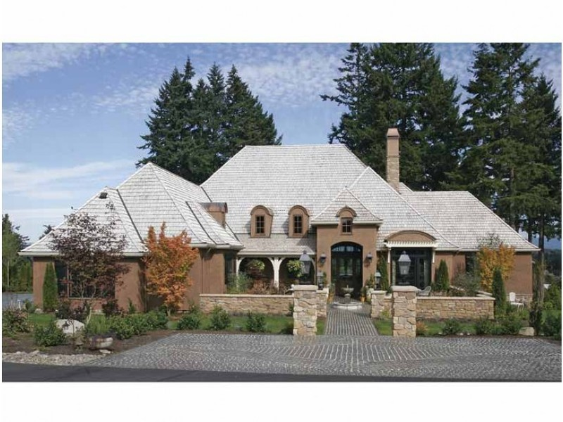 Country Style Home Plans, French Country House Plans At Dream Home Source