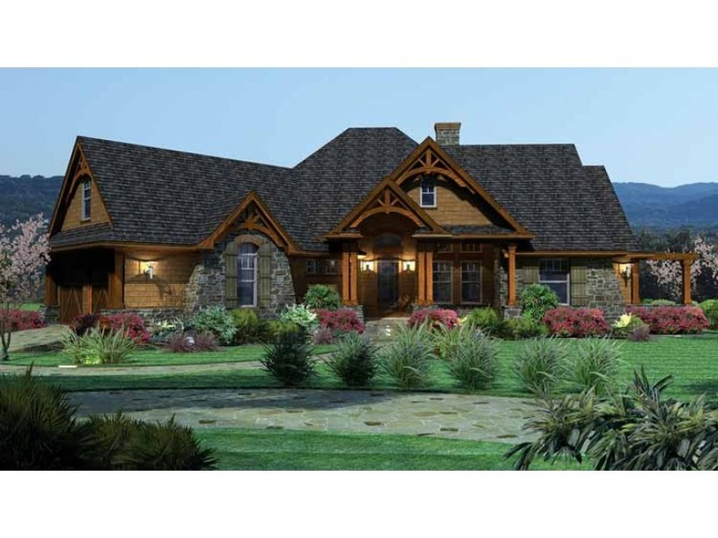 Country Style Home Plans, Country House Plans At Dream Home Source