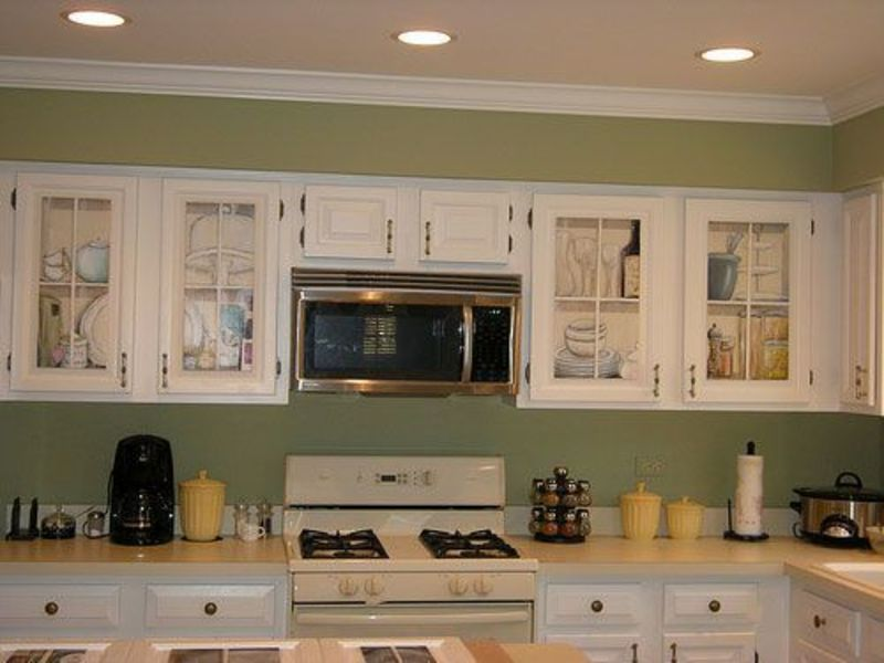 Sage Kitchen Walls With Cream Cabinets, 17 Best Images About Kitchen On Pinterest