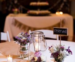 17 Best Ideas About Wedding Reception Table Decorations On Pinterest