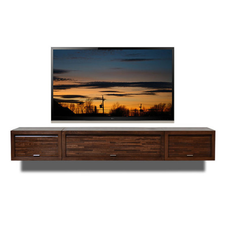 Wall Hung Tv Cabinets Uk, Wall Mount Tv Stand Eco Geo Entertainment Center Espresso