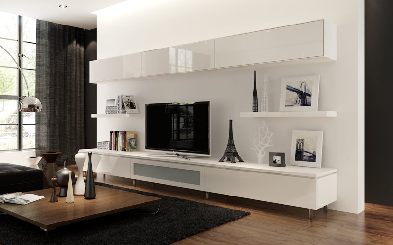 Wall Hung Tv Cabinets Uk, Style Your Home With Floating Cabinets Living Room