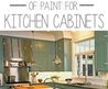 1000+ Ideas About Painting Kitchen Cabinets On Pinterest