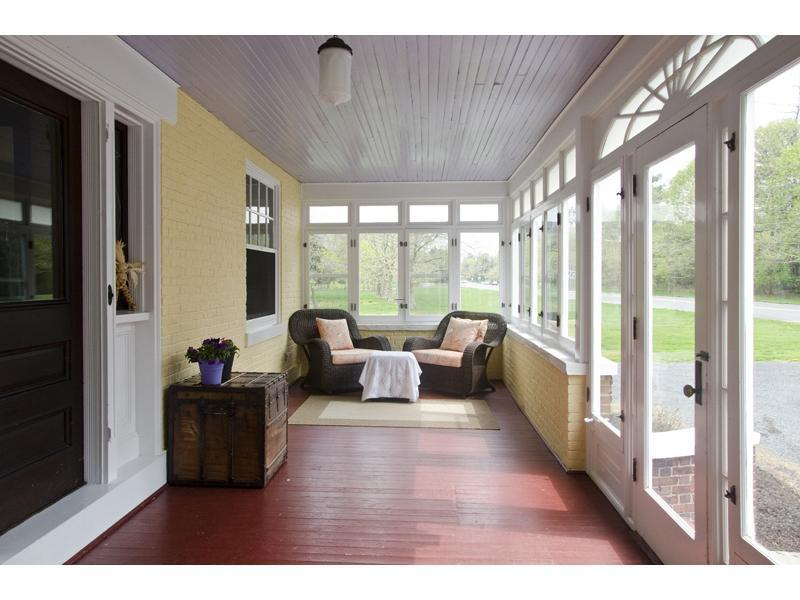 Enclosed Patio Plans Designs, Beautiful Enclosed Porch...Love The Ceiling