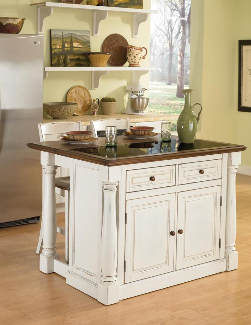 Small Kitchen Islands, 51 Awesome Small Kitchen With Island Designs