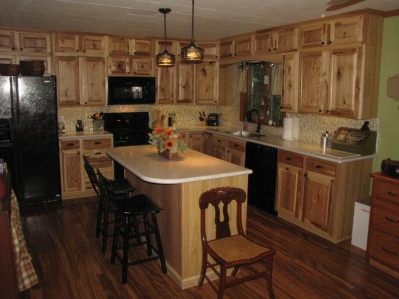 Pic Of Kitchen Cuboards At Lowes, 25+ Best Ideas About Hickory Kitchen Cabinets On Pinterest