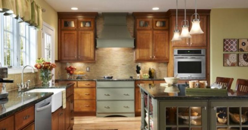 Pic Of Kitchen Cuboards At Lowes, Lowes