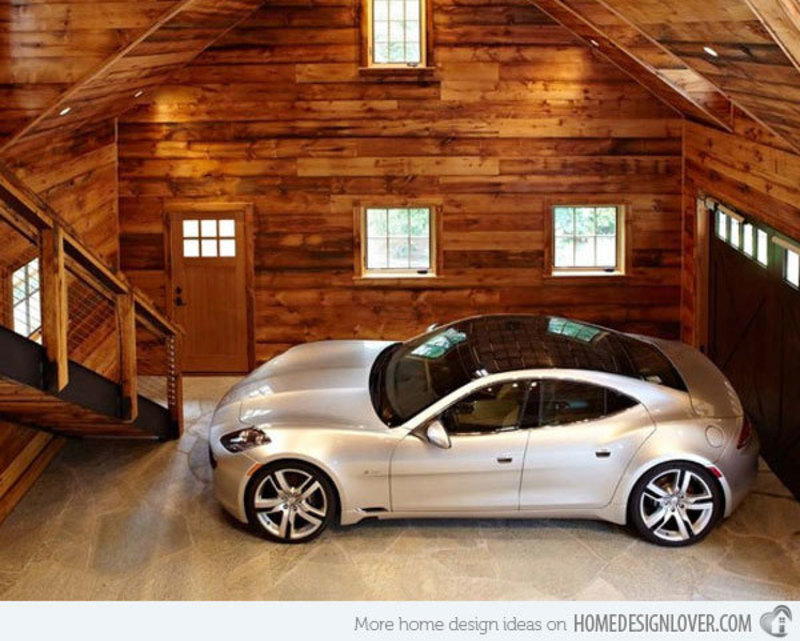 Dream Garage Interiors, Every Man's Dream Structure