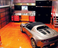 Luxury Decorating Idea And Custom Garage Interiors Design Ideas By Garage Mahals (1)