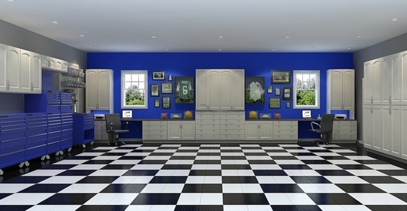 Home Owner S Guide To Garage Flooring Ideas And Options