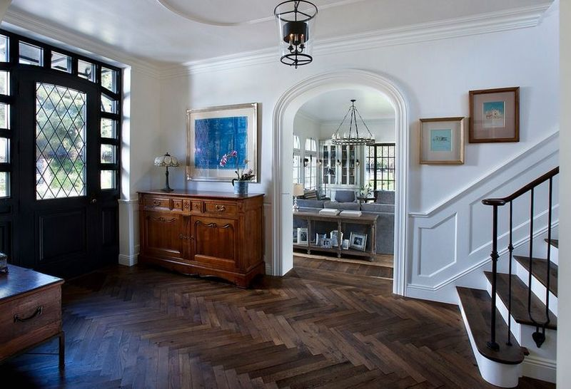 Making A Pattern On A Wooden Floor, How To Always Make The Most Of Your Herringbone Floors