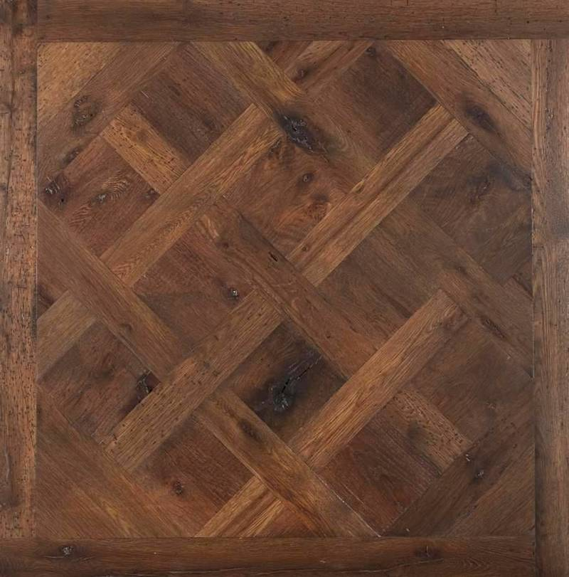 Making A Pattern On A Wooden Floor, Classic Parquet Floor Pattern Make A Big Comeback