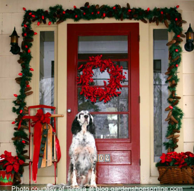 Ideas Outdoor Xmas Decorations, Outdoor Christmas Decorating Ideas For An Amazing Porch