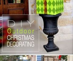 25+ Best Ideas About Outdoor Christmas On Pinterest