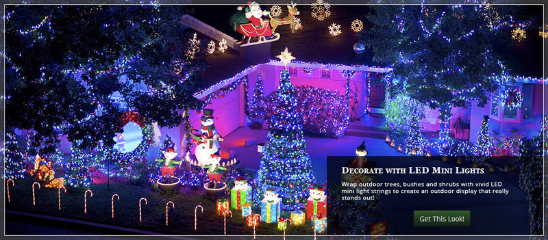 Ideas Outdoor Xmas Decorations, Outdoor Christmas Yard Decorating Ideas