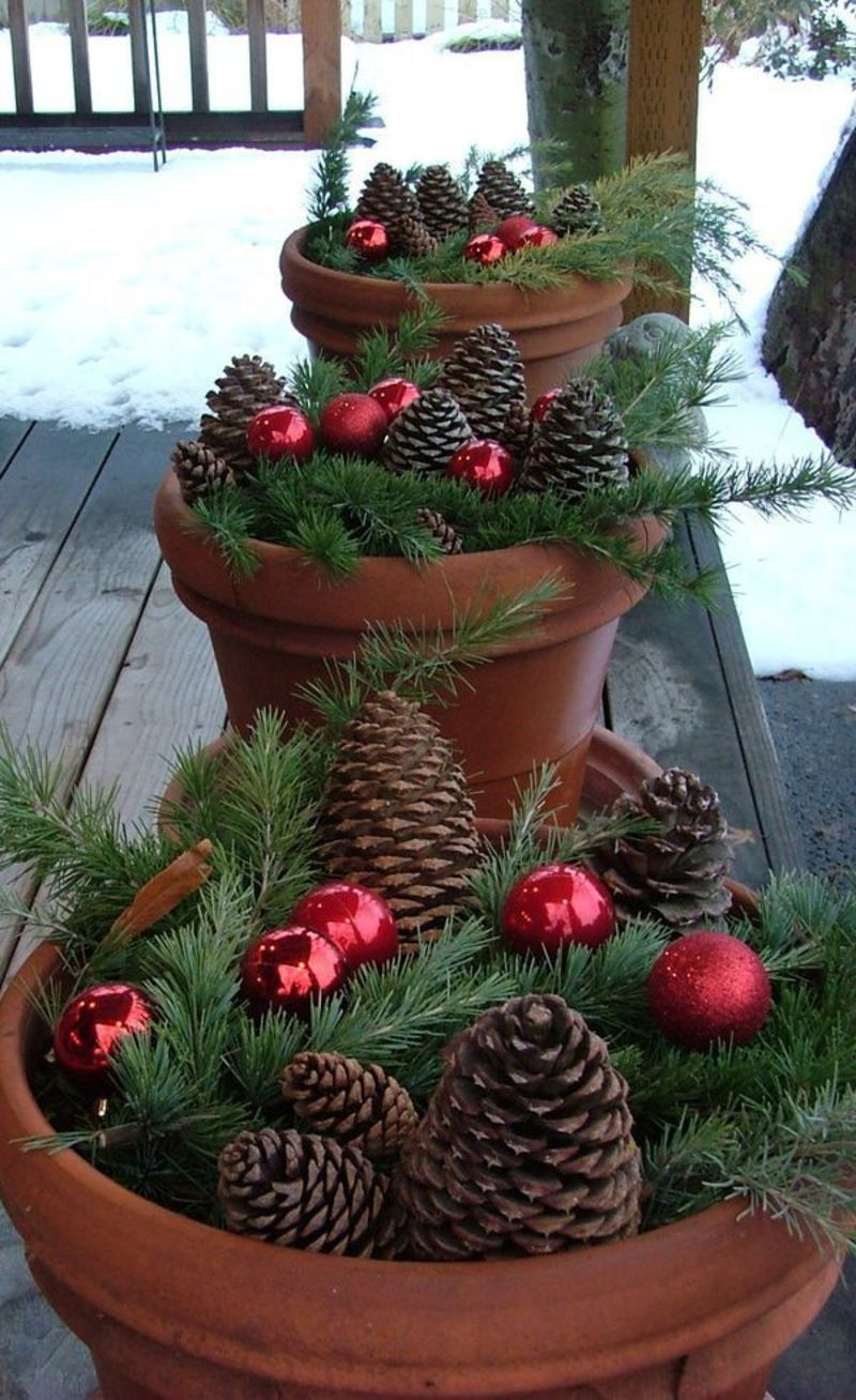 Ideas Outdoor Xmas Decorations, 25+ Best Ideas About Outdoor Christmas Decorations On Pinterest