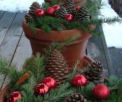 25+ Best Ideas About Outdoor Christmas Decorations On Pinterest