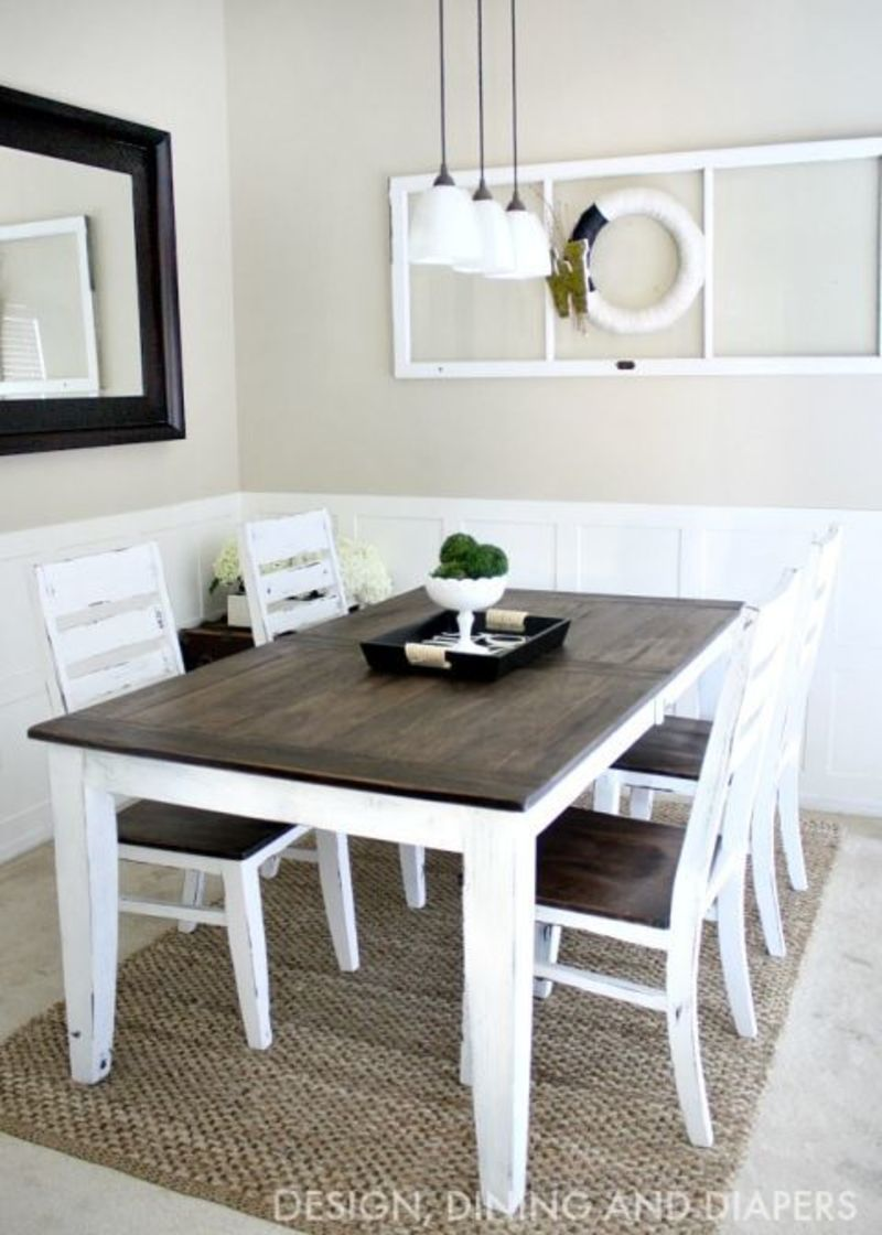 Farmhouse Table And Chairs, 25+ Best Ideas About Farmhouse Table Chairs On Pinterest