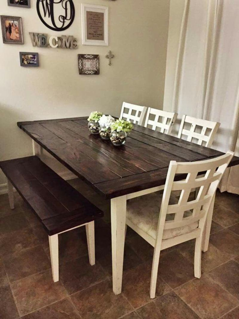 Farmhouse Table And Chairs, 25+ Best Ideas About Painted Farmhouse Table On Pinterest