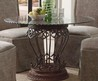 Coaster Slauson Round Glass Top Dining Table