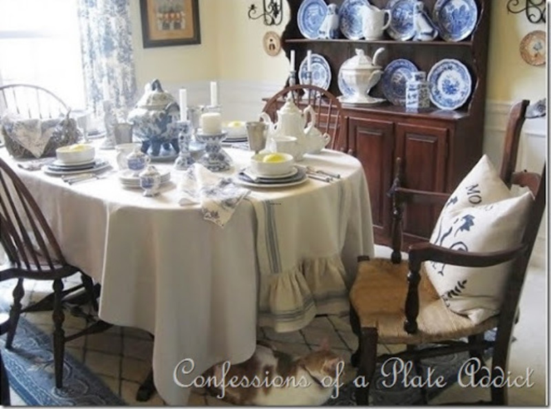 French Country Decorating Fabrics, Confessions Of A Plate Addict