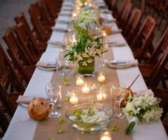 25+ Best Ideas About Burlap Table Decorations On Pinterest