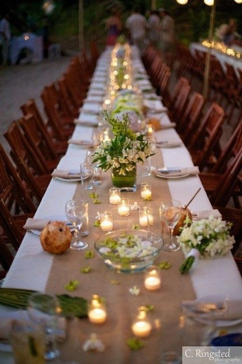 Wedding Table Decorations, 25+ Best Ideas About Burlap Table Decorations On Pinterest