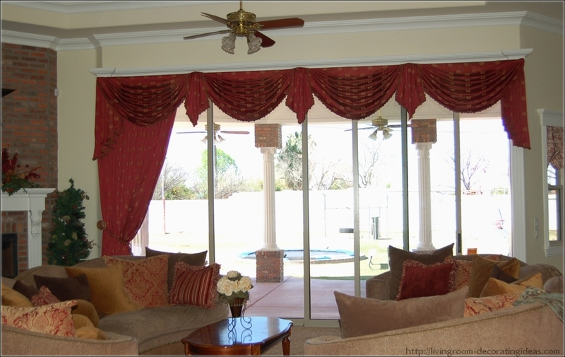 Living Room Curtains Ideas Pictures With Valances, Living Room