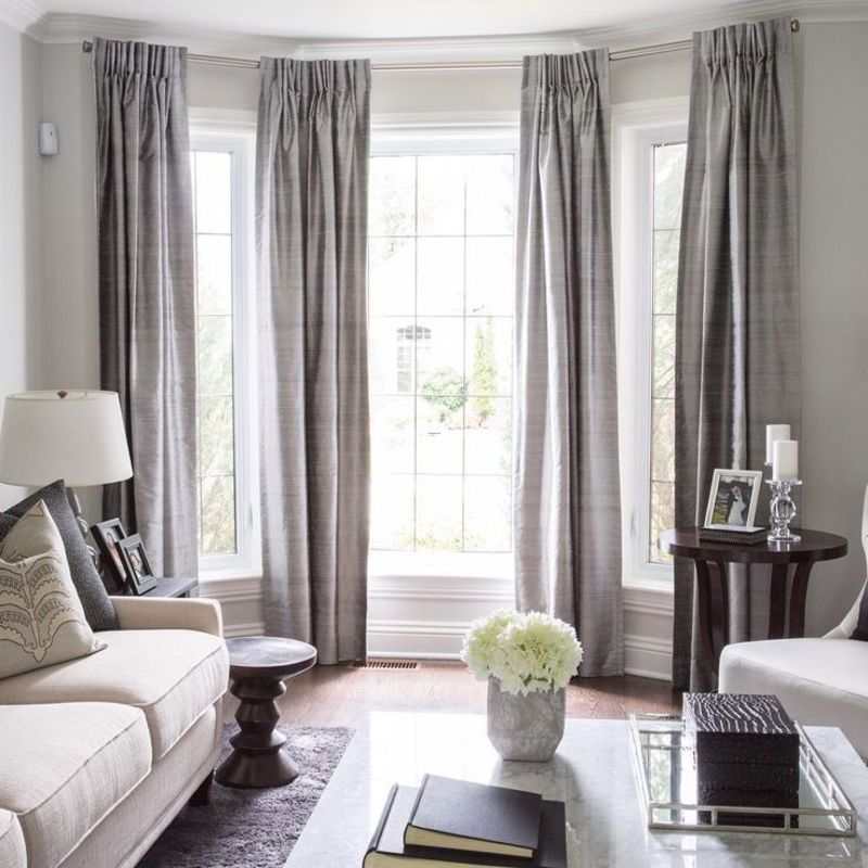 Living Room Window Curtains, 25+ Best Ideas About Large Window Curtains On Pinterest