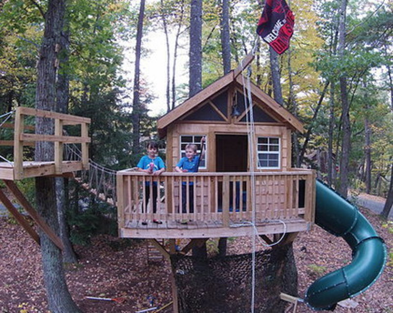 Kids Tree House, Treehouses