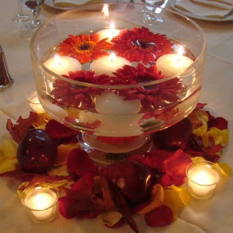 Centerpieces For Tables, 20 Candles Centerpieces, Romantic Table Decorating Ideas For Valentines Day