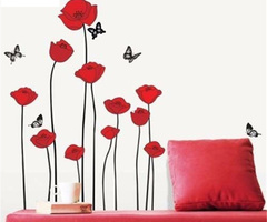 Online Get Cheap Red Wall Decal
