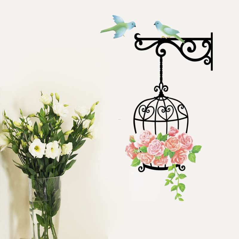 Cheap Fliwet W Ll Art Stickets, Online Get Cheap Birdcage Wall Art