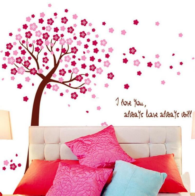 Cheap Fliwet W Ll Art Stickets, Online Get Cheap Cherry Blossom Wall Art Stickers