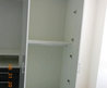 Wardrobe Cabinets In White & Dark Grey Glass