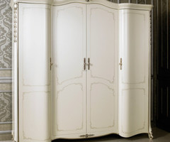 Buy Jin Fang Special European White Wardrobe Closet Wood Bedroom Furniture Relief Four Simple Wardrobe In Cheap Price On Alibaba.Com