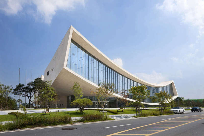 Architecture Buildings, South Korean Architecture
