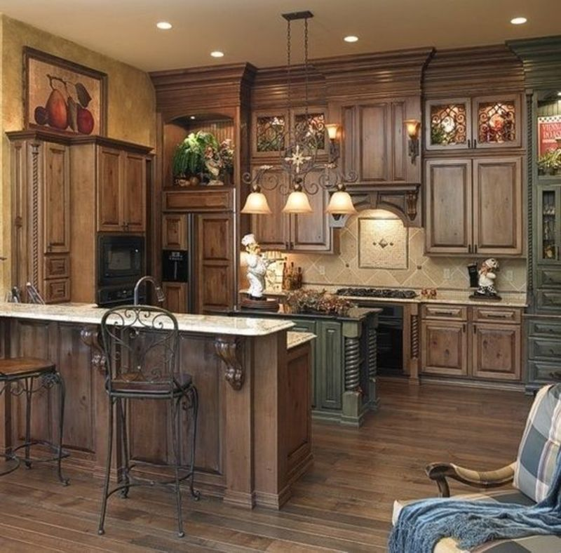Rustic Kitchen Ideas, 25+ Best Ideas About Small Rustic Kitchens On Pinterest
