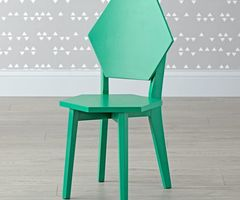 Polygon Orange Kids Chair