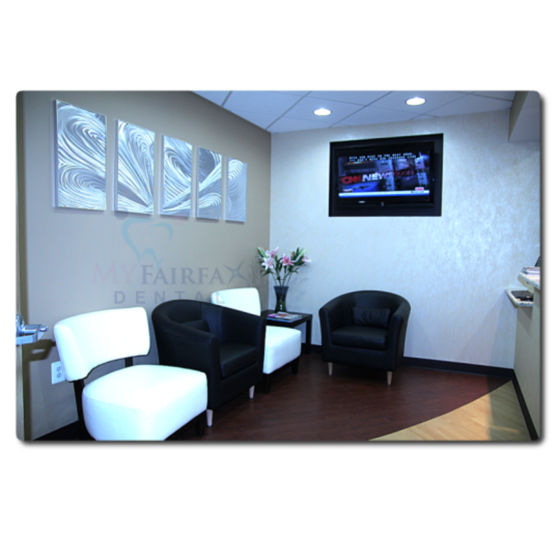 Modern Waiting Area Design, Fairfax Dentist Office Tour