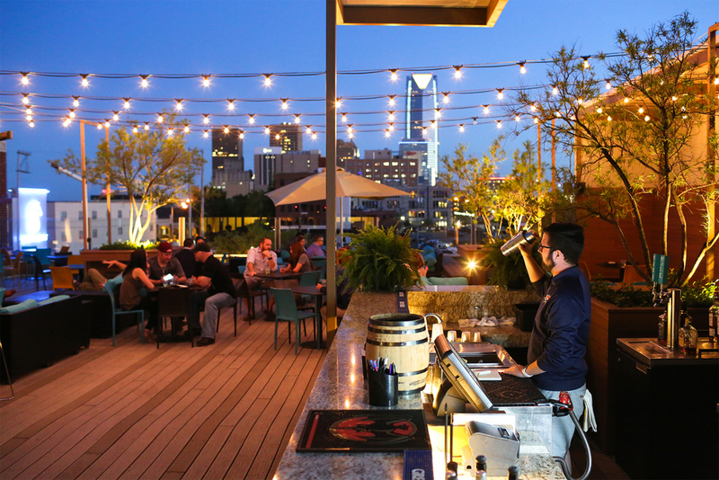Rooftop, Rooftop + Events — Packard's New American Kitchen