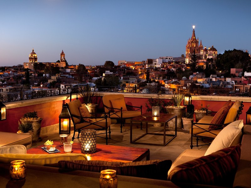Rooftop, The Best Rooftop Restaurants In San Miguel De Allende