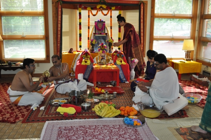 Home Pooja Setup, Sri Ramaswamy Bhattar's Blog