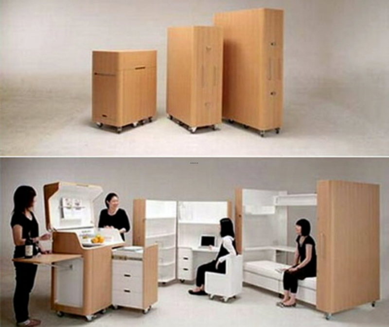 Small Space Furniture, Choose The Best Way For Furnishing Small Spaces — House Design And Layout