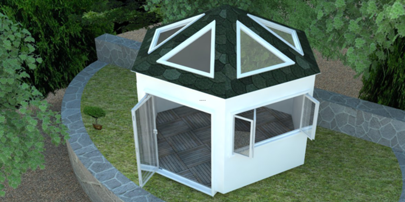 Hot Tub Encloser, Hot Tub Enclosures